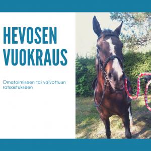 Hevosen vuokraus